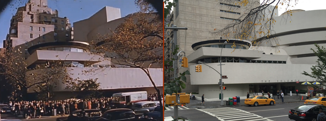 Then & Now Guggenheim Museum